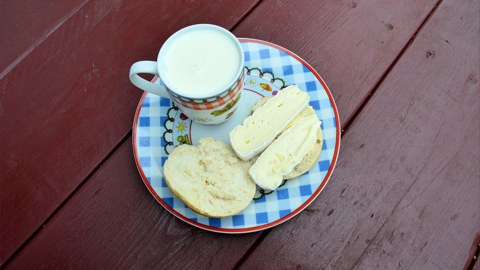 Latte e formaggio e la medaglia d'oro del calcio!